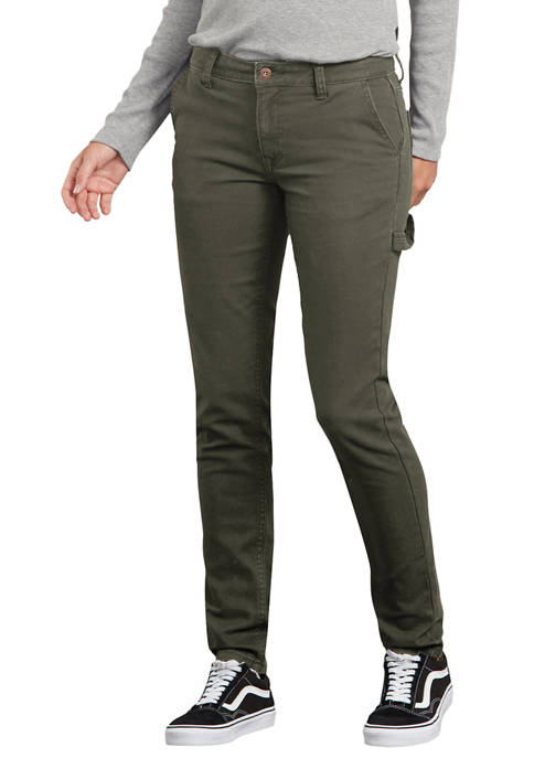 Dickies® Womens Stretch Duck Carpenter Pants