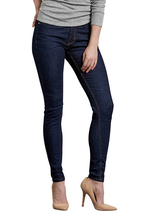 Womens Perfect Shape Skinny Leg Stretch Denim Jeans
