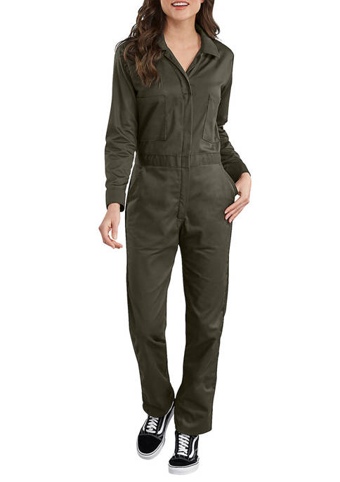 Dickies® Womens Long Sleeve Cotton Twill Coveralls