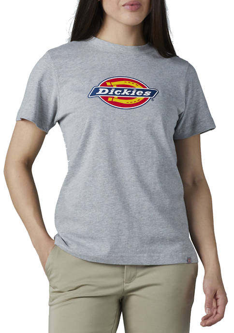 Dickies® Womens Logo Graphic Cotton T-Shirt