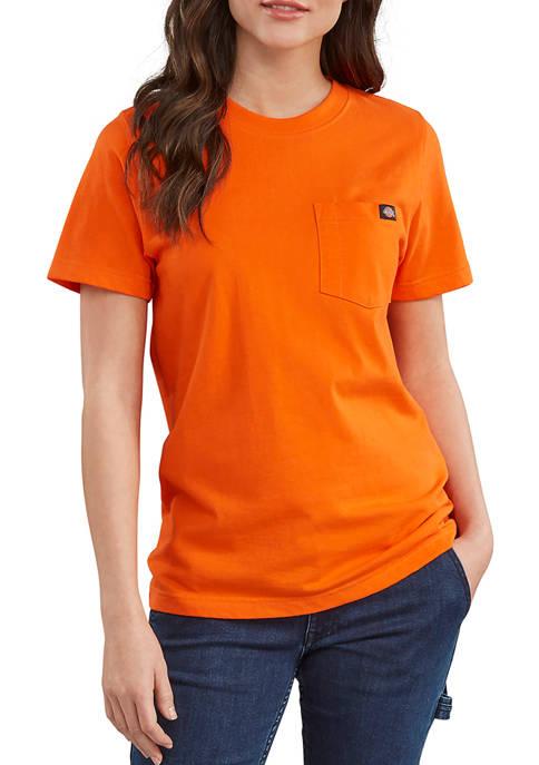 Dickies® Womens Short Sleeve Heavyweight T-Shirt