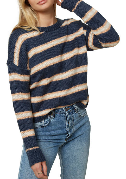 O'NEILL Womens Daze Striped Sweater