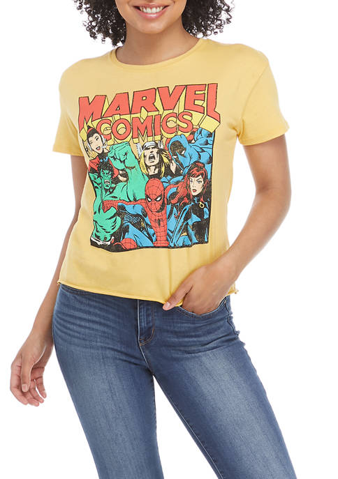 MARVEL Juniors Short Sleeve Graphic T-Shirt