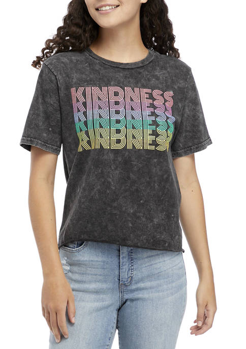 Fifth Sun™ Short Sleeve Kindness Pride Graphic T-Shirt