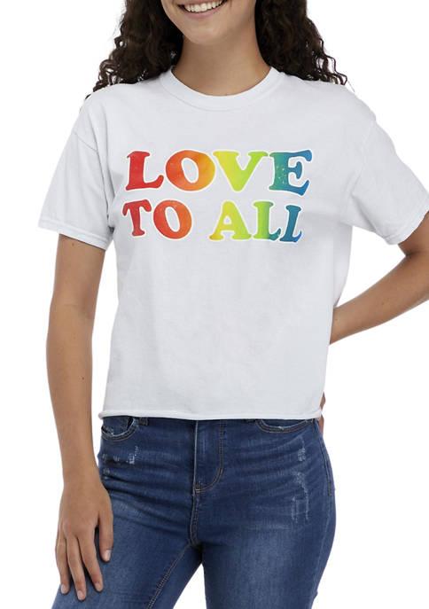 Fifth Sun™ Juniors Short Sleeve Love to All