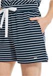 Womens Striped Romper