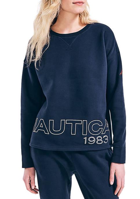Womens 1983 Graphic Sweatshirt