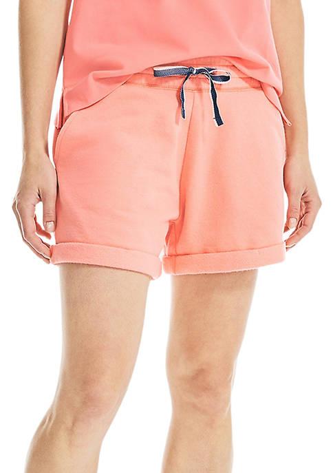 Nautica Womens 4 Inch Knit Shorts