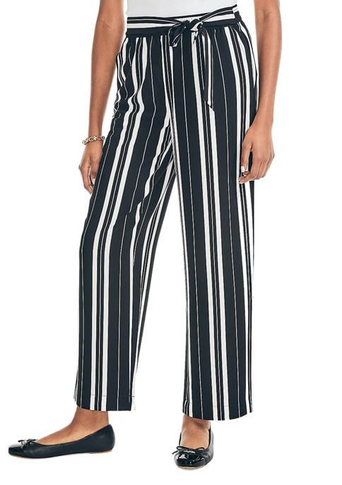 Nautica Womens Striped Pants