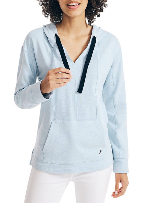 Sustainably Crafted Ribbed Hoodie