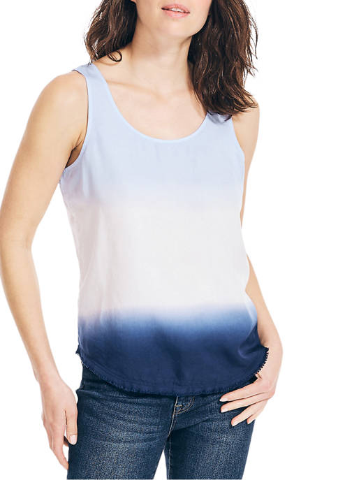 Nautica Jeans Co. Sustainably Crafted Dip-Dye Sleeveless Top