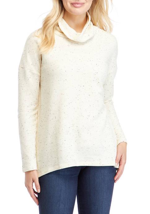 Ocean & Coast® Drop Shoulder Cowl Neck Sweater