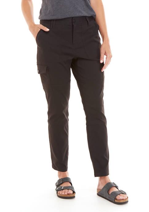 Ocean & Coast® Womens Stretch Woven Cargo Pants