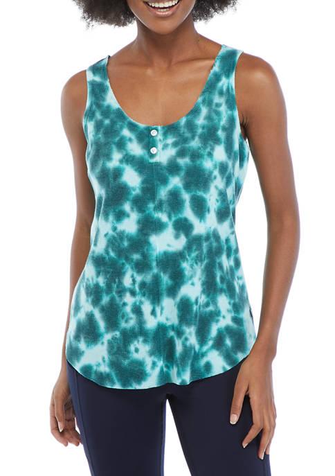 Ocean + Coast® Womens Tie Dye Raw Edge