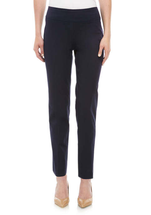 Crown & Ivy™ Ashley Bi Stretch Straight Leg