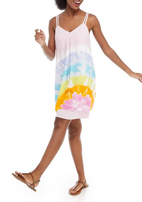 Crown & Ivy™ Womens Sleeveless Tiered Dress