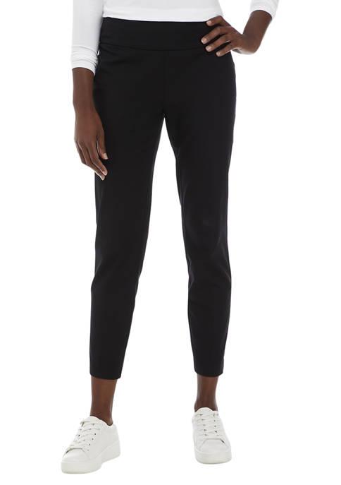 Crown & Ivy™ Petite Bi-Stretch Pants