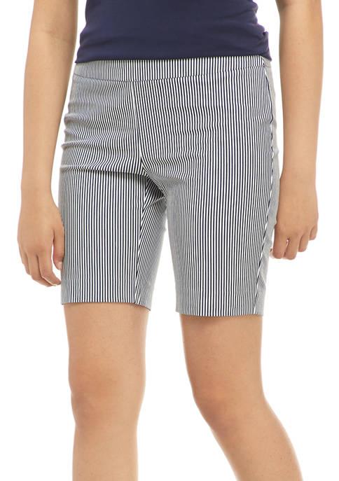 Crown & Ivy™ Petite Pull-On Bermuda Shorts