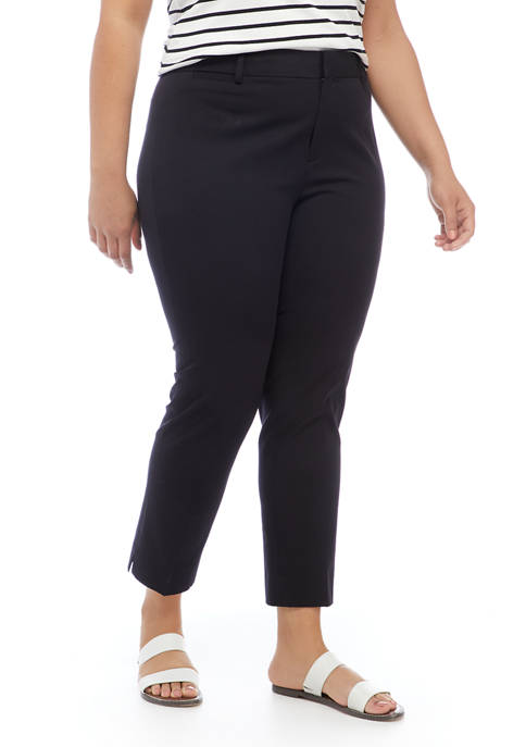 Crown & Ivy™ Plus Size Cary Fly Front