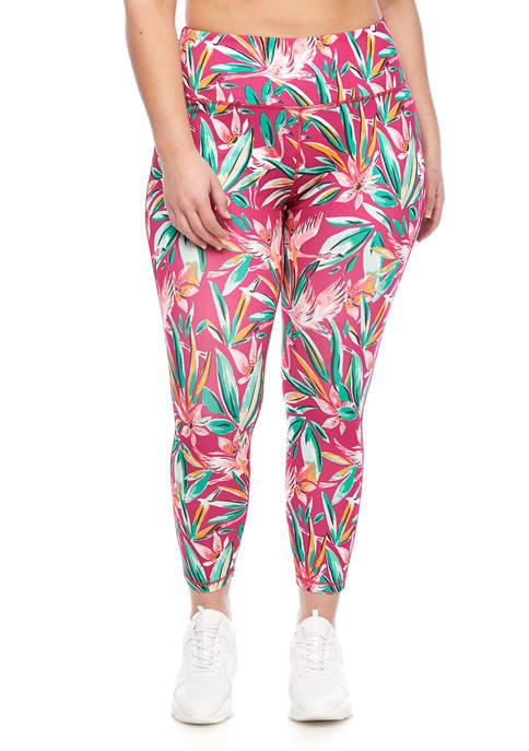 Crown & Ivy™ Plus Size Printed Leggings