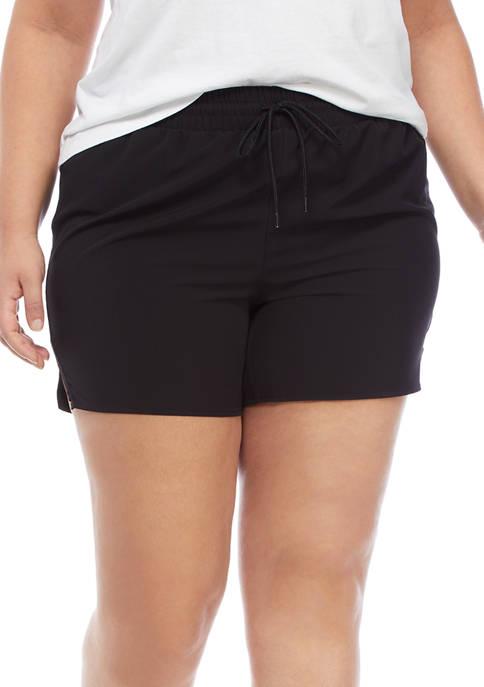 Crown & Ivy™ Plus Size Running Shorts