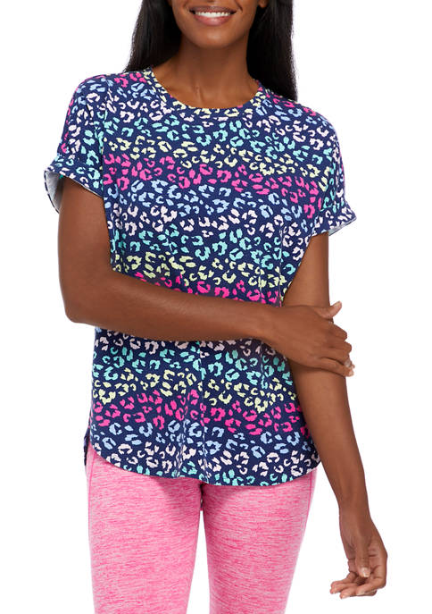 Cabana by Crown & Ivy™ Womens Short Sleeve