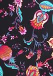 Floral Classic Beach Swim Pants with Elastic Waistband