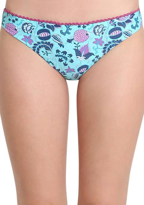 Nanette Lepore Floral Hipster Swim Bikini Bottoms