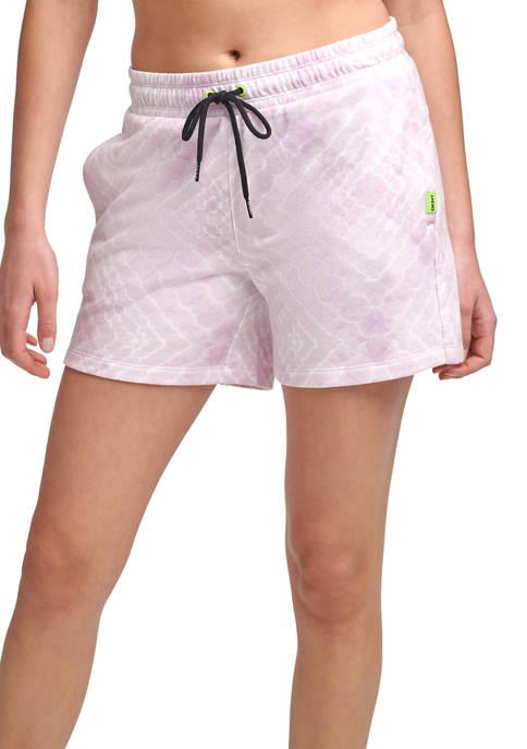 DKNY Sport Shibori Printed Shorts