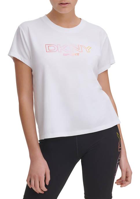 DKNY Sport Ombré Logo T-Shirt