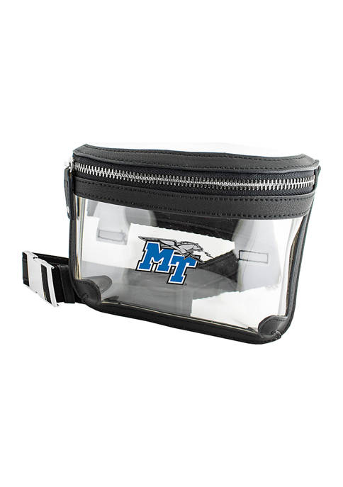 Capri Designs NCAA Middle Tennessee Blue Raiders Belt