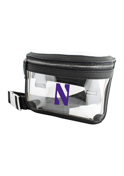 Capri Designs NCAA Northwestern Wildcats Belt Bag