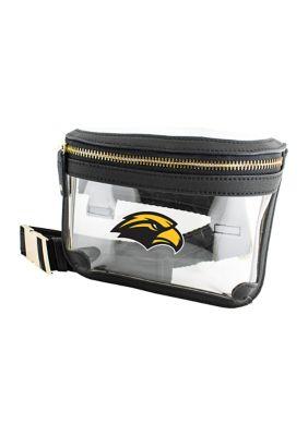Capri Designs Women Ncaa Southern Miss Golden Eagles Belt Bag