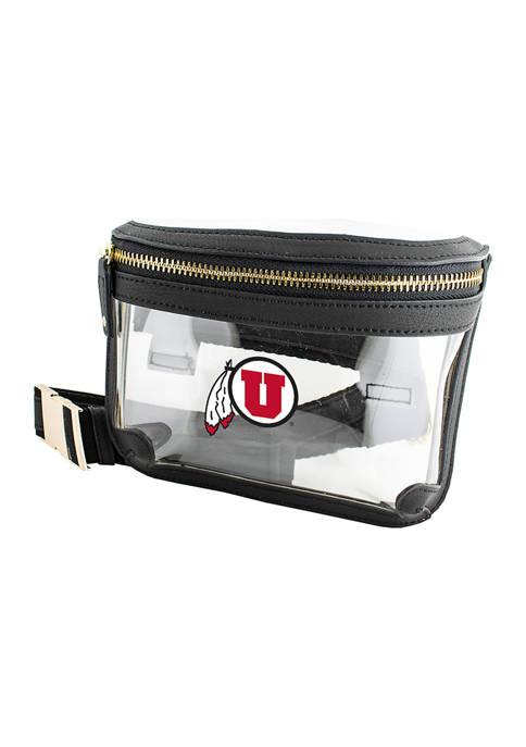 Capri Designs NCAA University of Utah Belt Bag