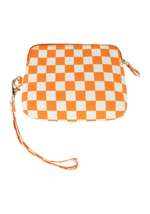 Capri Designs NCAA University of Tennessee Checkerboard Catchall