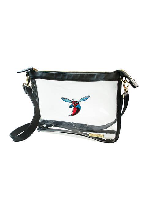Capri Designs NCAA Delaware State Hornets Large Crossbody
