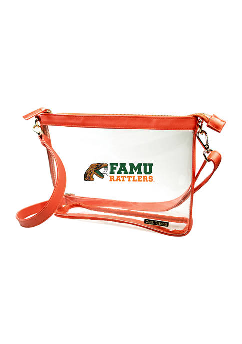 Capri Designs NCAA Florida A&M Rattlers Large Crossbody