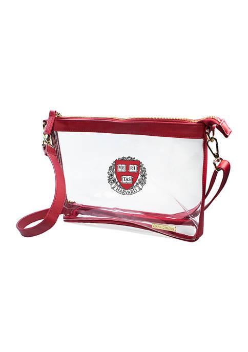 Capri Designs NCAA Harvard University Large Crossbody
