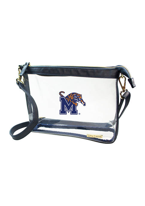 Capri Designs NCAA Memphis Tigers Large Crossbody