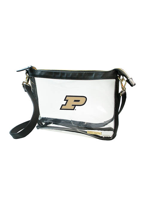 Capri Designs NCAA Purdue University Large Crossbody