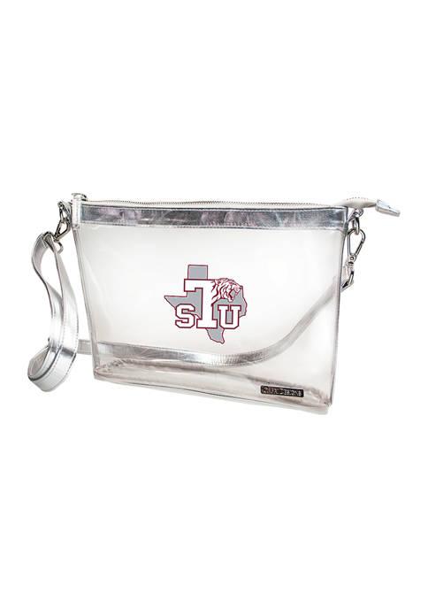Capri Designs NCAA Texas Southern Tigers Large Crossbody