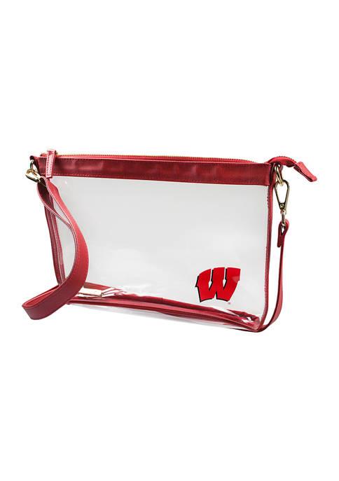 Capri Designs NCAA University of Wisconsin Large Crossbody