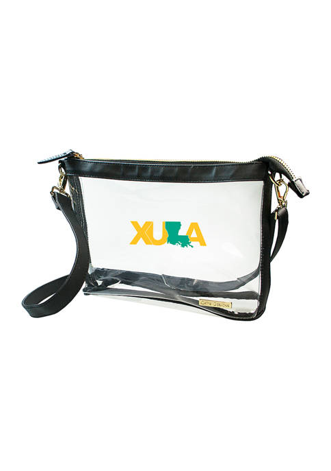 Capri Designs NCAA Xavier Rattlers Large Crossbody