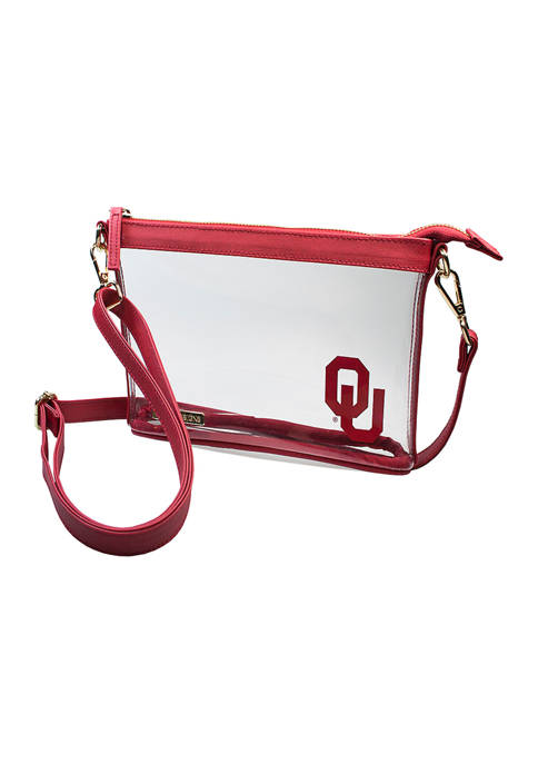 Capri Designs NCAA University of Oklahoma Small Crossbody