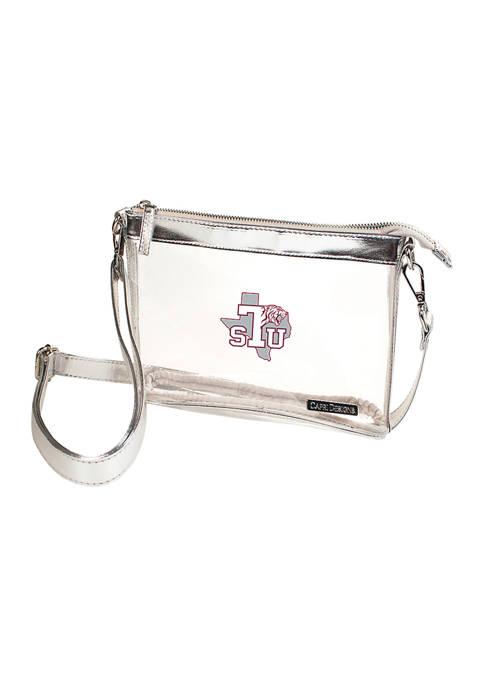 Capri Designs NCAA Texas Southern Tigers Small Crossbody