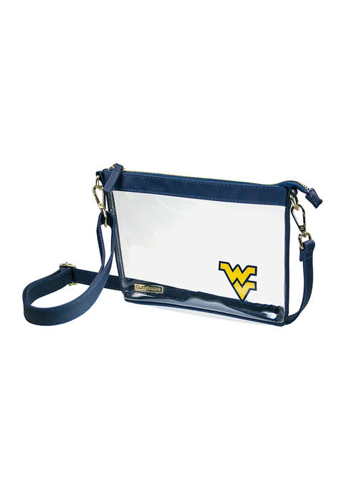 Capri Designs NCAA West Virginia University Small Crossbody