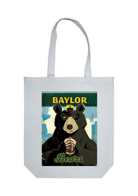 NCAA Baylor University Canvas Tote