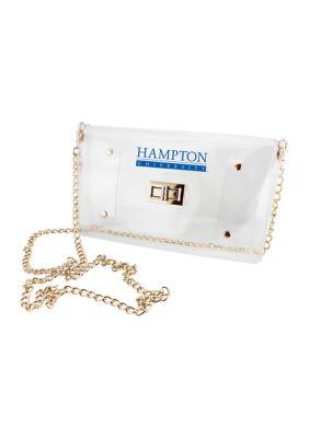 Capri Designs Women Ncaa Hampton Pirates Envelope Crossbody