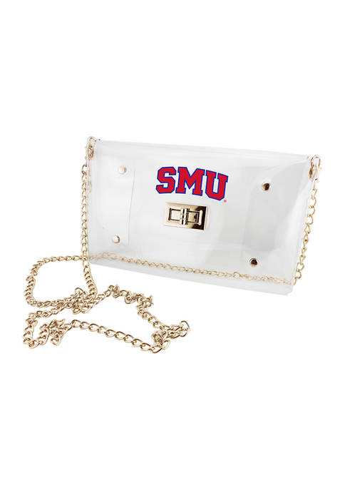 Capri Designs NCAA SMU Mustangs Envelope Crossbody