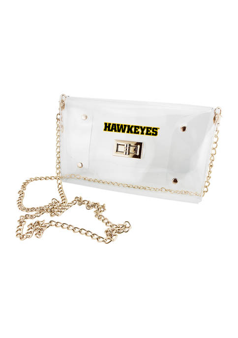 Capri Designs NCAA Iowa Hawkeyes Envelope Crossbody